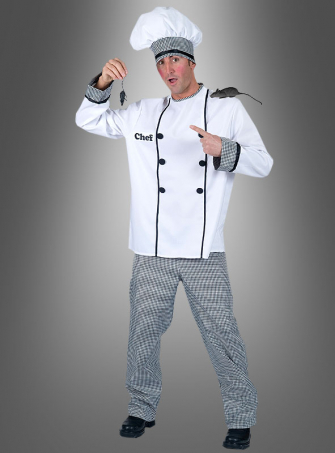 Head Cook Costume