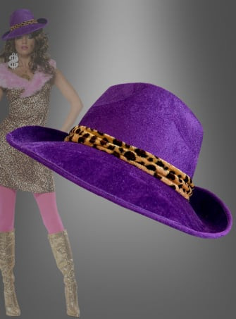 Purple Pimp Hat