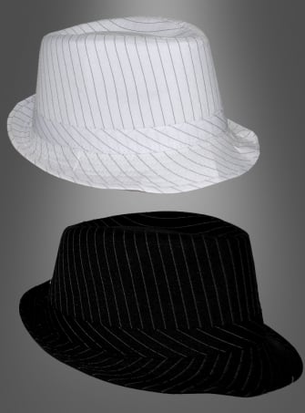 Mafia hat striped 20s