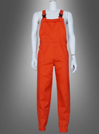 Orange Bib Overall