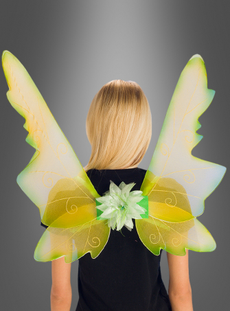 Fairy Wings green-yellow