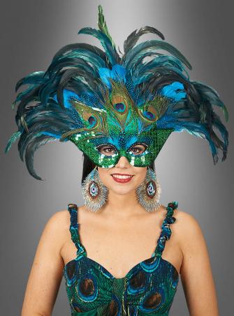 Samba Feather Mask