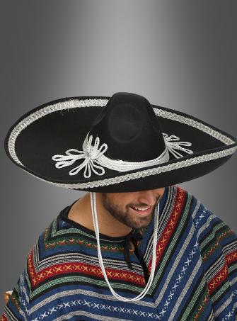 Deluxe Sombrero schwarz