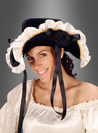 Eleganter Piratenhut für Damen