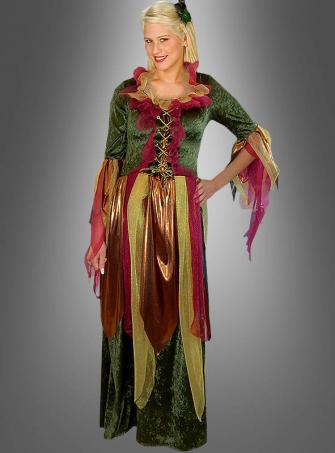 Waldfee Kleid Elfenkostüm