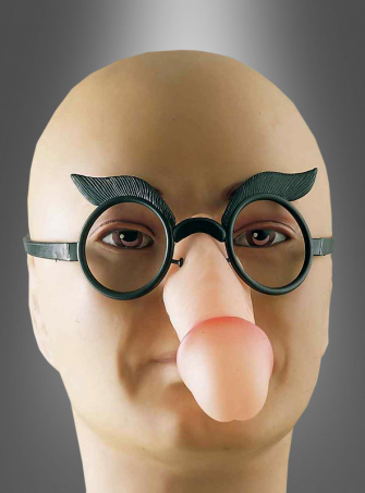 Penis Spaßbrille