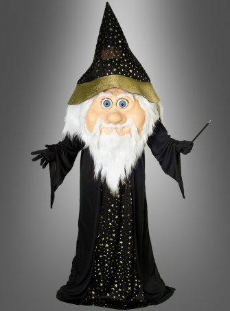 Oversized Wizard Costume