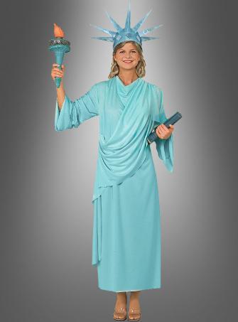 Lady Liberty Kostüm Freiheitsstatue