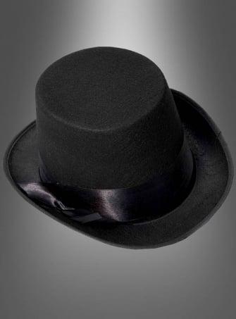 Zylinderhut Steampunk schwarz