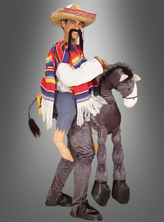 Mexican with Donkey Funny Costume