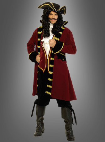 Designer Pirate Captain costume