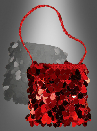 Flapper Bag red