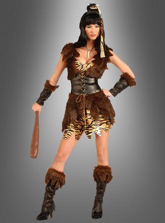 Sexy Steinzeitfrau Kostüm