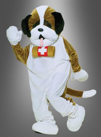 Maskottchen Hund Bernhardiner
