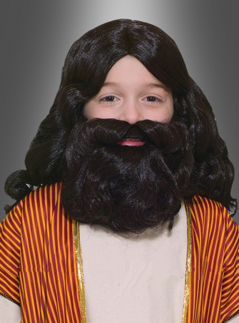 Child´s Biblical Wig and Beard