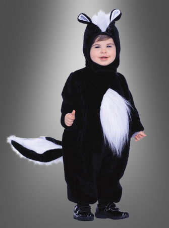 Toddler Skunk Plush costume