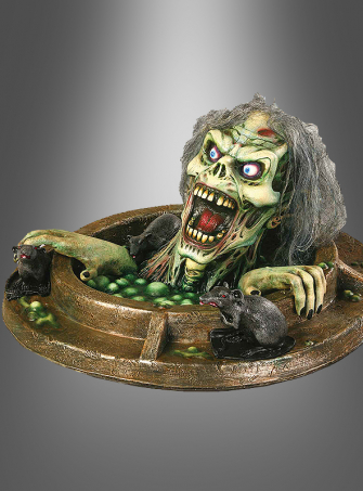 Manhole Monster Halloween decoration