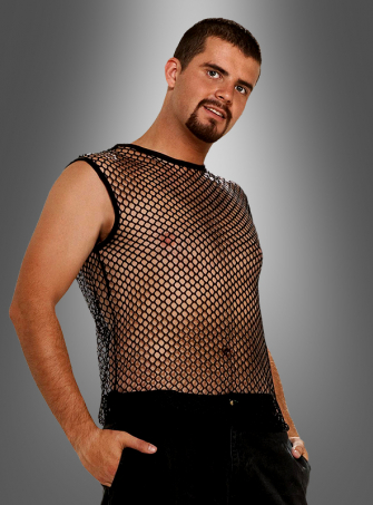 Rocker fishnet shirt