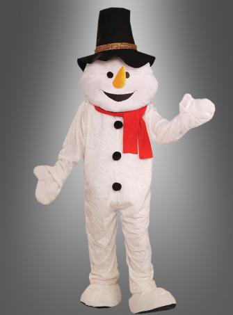 Frosty Snowman Mascot Costume