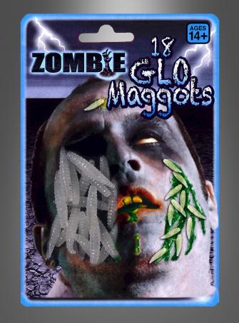 Zombie Glow Maggots