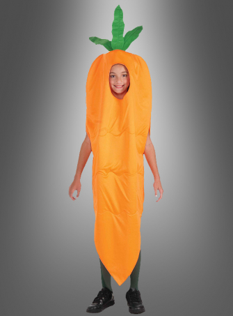 Carrot child costume