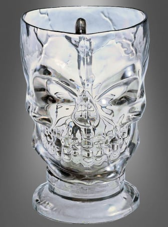 Skull Pitcher purple or clear