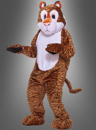 Tiger Maskottchen Herrenkostüm