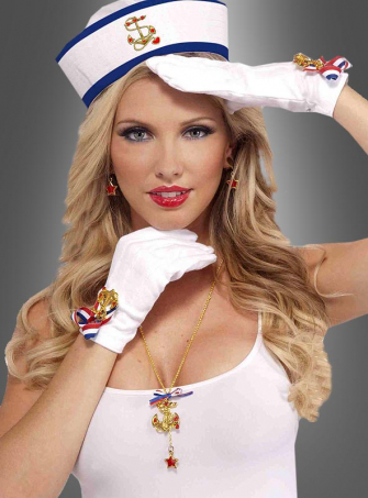 Sailor Girl Gloves