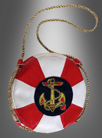 Lady Navy Hand Bag