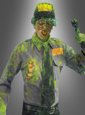 Biohazard Zombie Security Guard