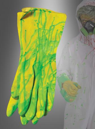 Biohazard Rubber Gloves