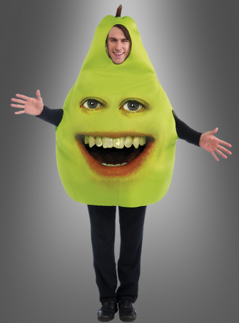Annoying Orange Pear adult costume