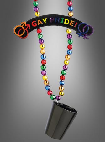 CSD Shotglas Kette Gay Pride!