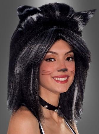 Katzenperücke mit Ohren