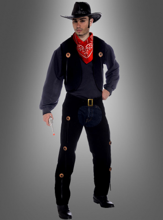 Cowboy Vest and Chaps