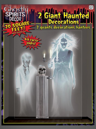 Spooky Ghosts Wall Decoration