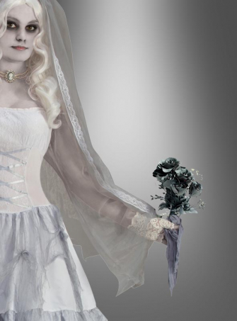 Ghost Flower Bride Bouquet