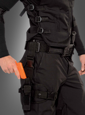 SWAT Police Leg Holster Set