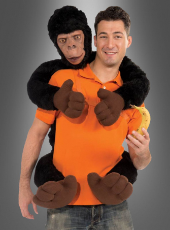 Monkey on my Back Costume