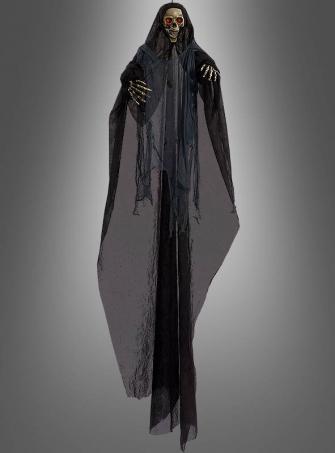 Reaper Skelett mit Leuchteffekt 200 cm