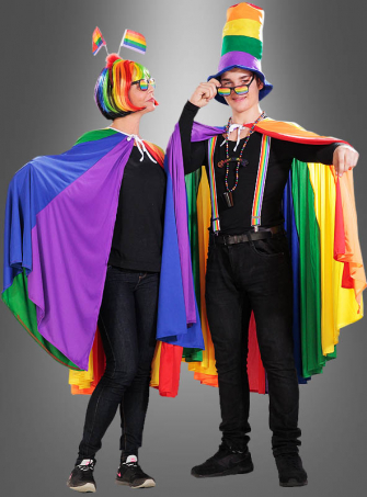 Rainbow Cape unisex
