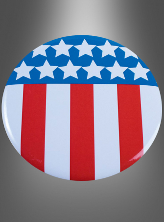 USA Jumbo Button Anstecker 10 cm