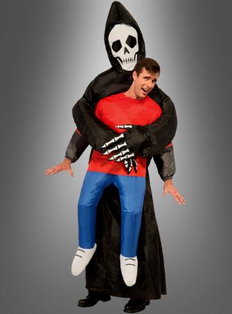 Aufblasbarer Tod Halloweenkostüm