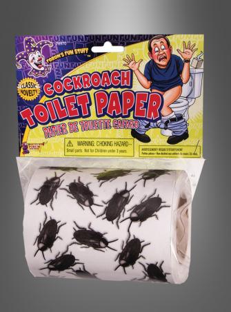 Kakerlaken Toilettenpapier