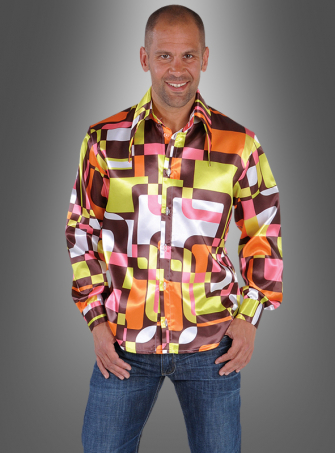 Retro Shirt for Men 60s