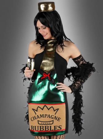 Champagner Kleid Bubbles
