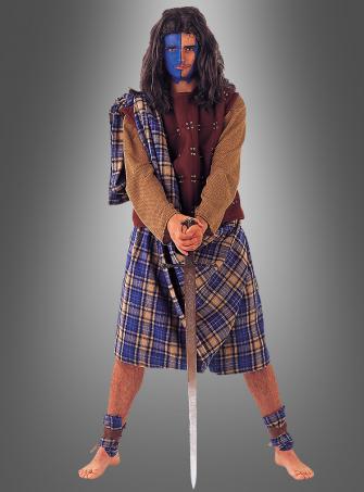 Scottish rebel costume