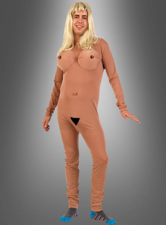 Naked Girl Costume for men