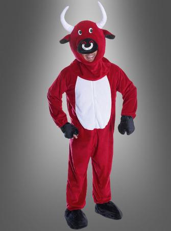 Roter Bulle Karnevalskostüm