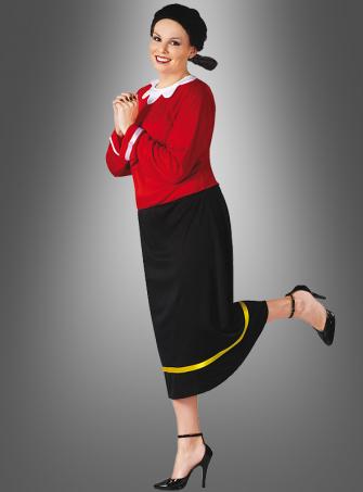 XL Olivia Kostüm zu  Popeye